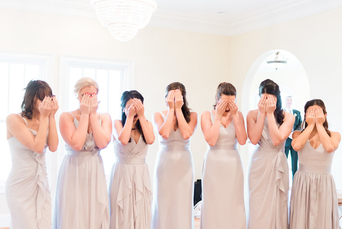bridesmaids surprise