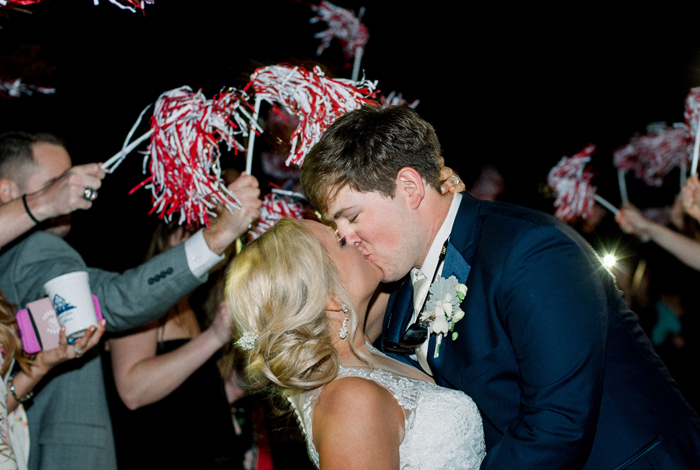 University of Alabama wedding