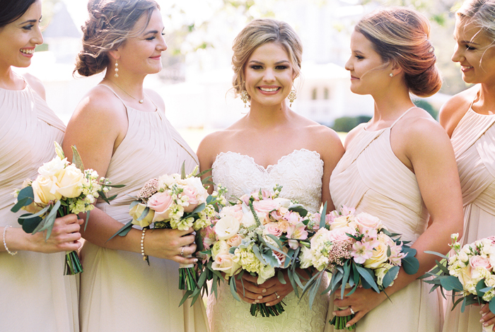 blush bouquets