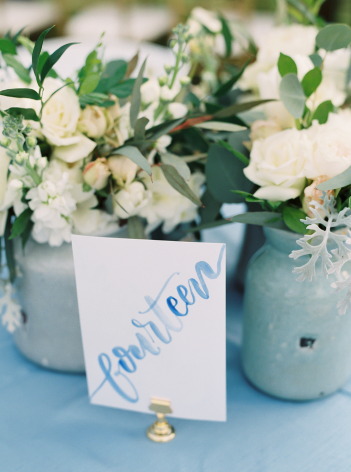 french blue wedding