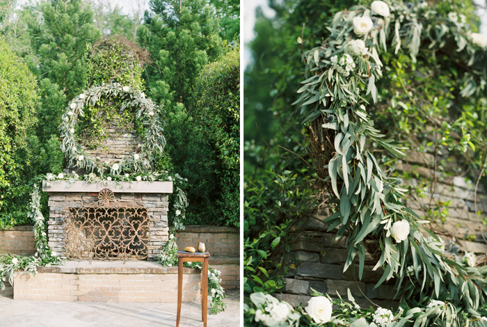 eucalyptus wreath and garland