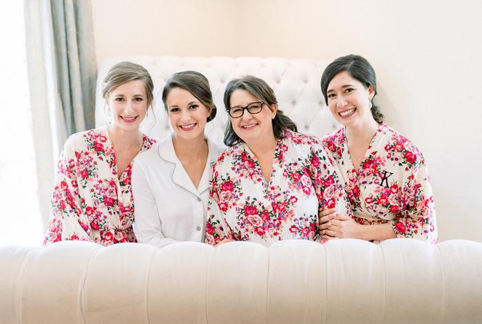 floral robes