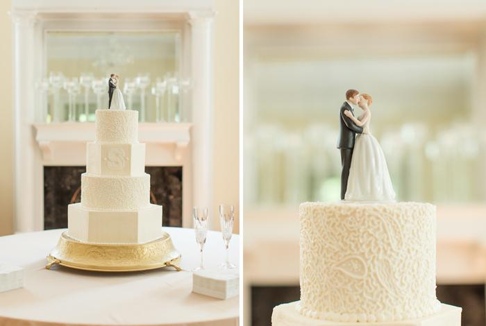intricate cake