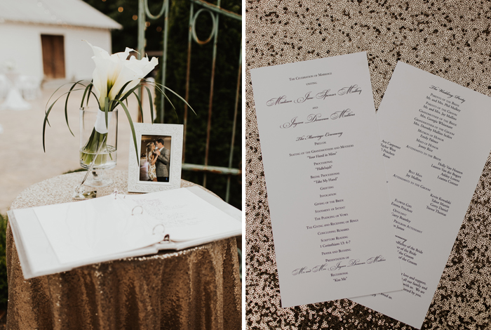 wedding programs