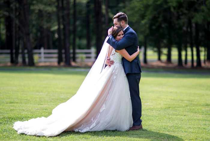 groom's reaction to seeing bride