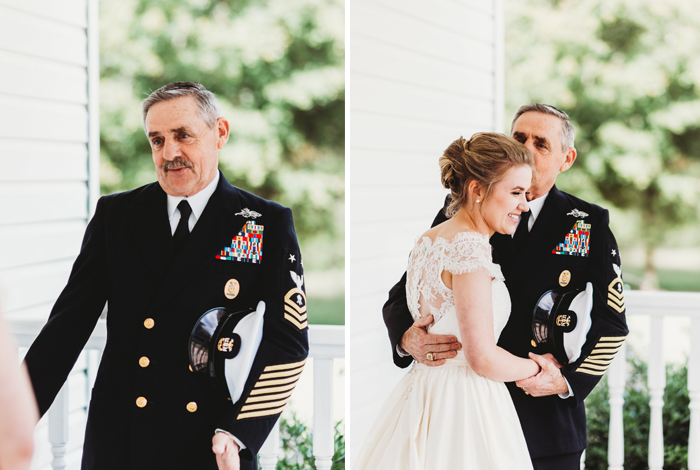 military father of the bride