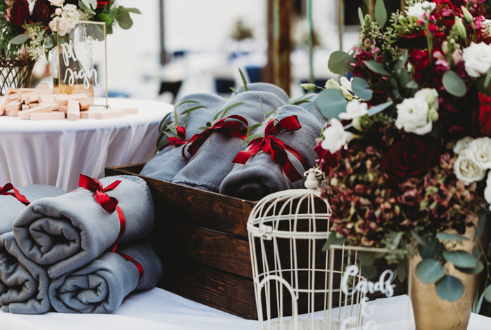 cold wedding ideas