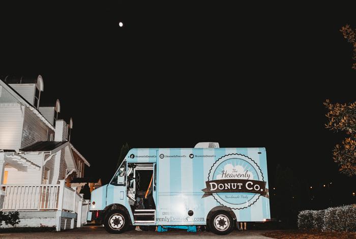 food truck reception