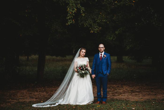 stylish alabama wedding