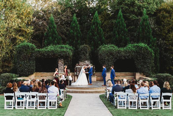 October sonnet house wedding