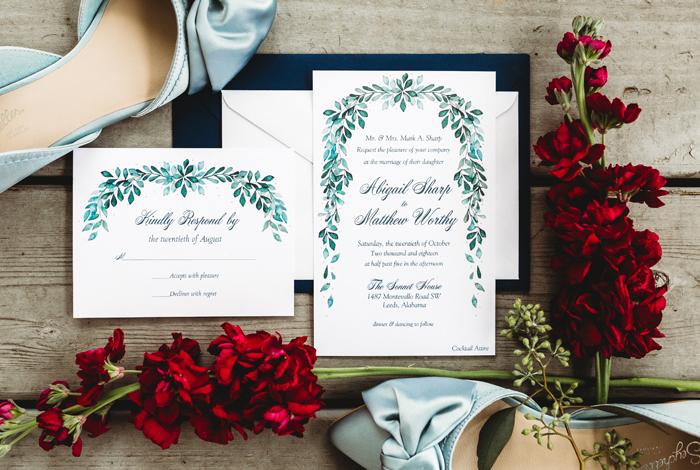 greenery invite