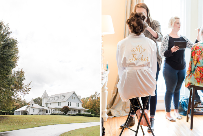 places to get ready on your wedding day