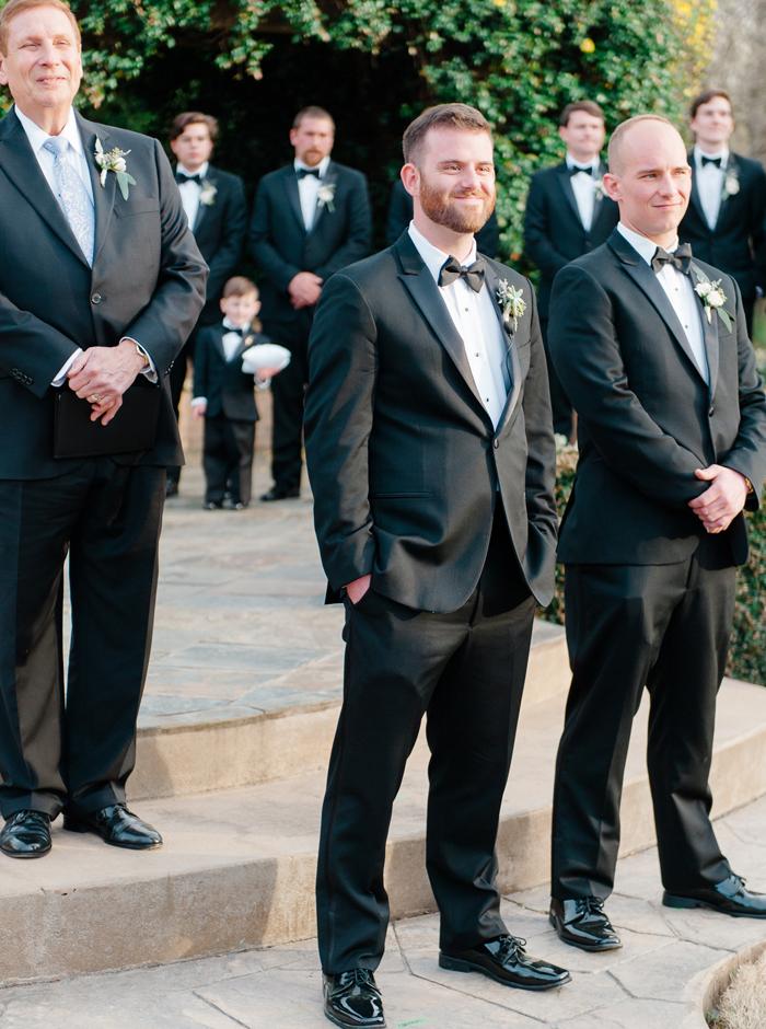 sharply dressed groom