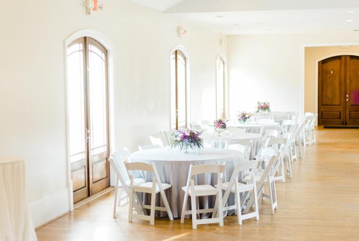 indoor reception options