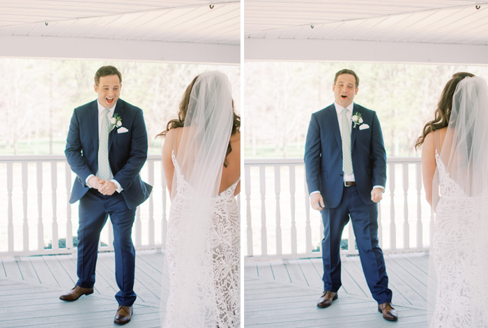 best groom's reactions