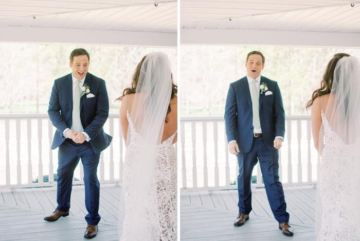 best groom's reactions
