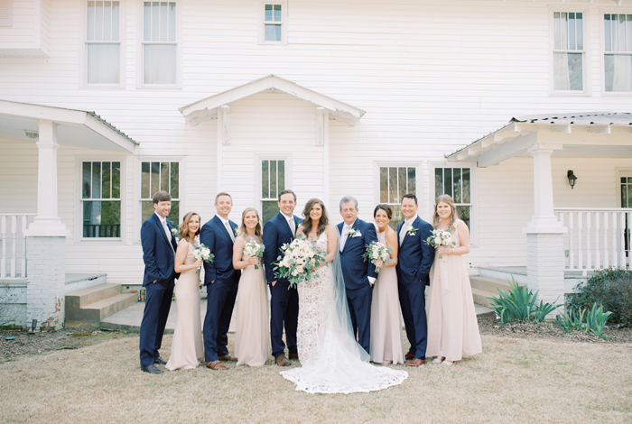 soft blush bridesmaids dresses