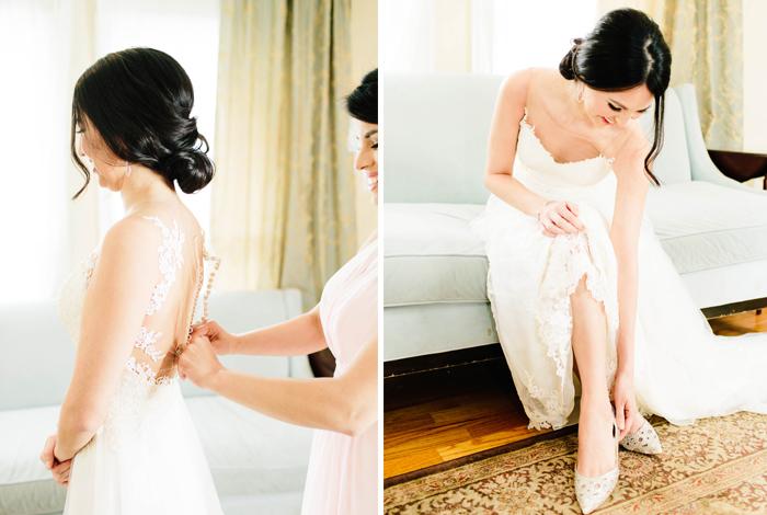 dark haired bride
