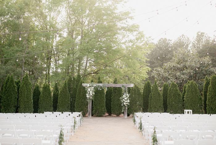 garden wedding alabama