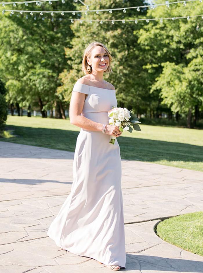 chic bridesmaid