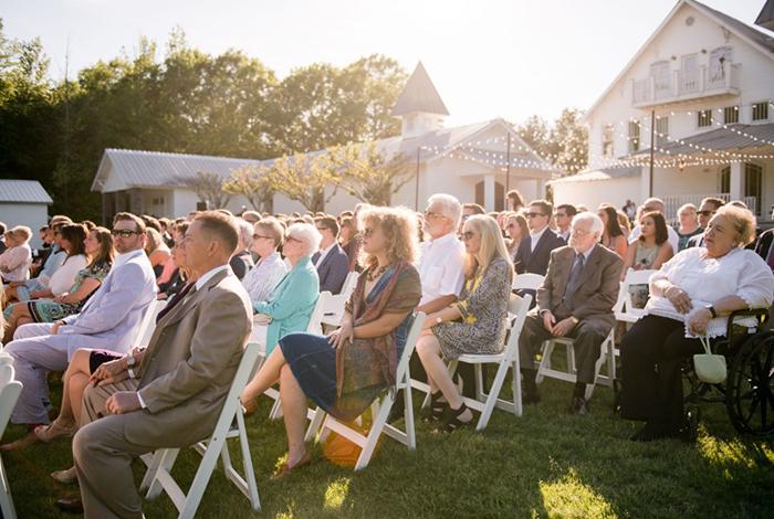 large outdoor wedding venue