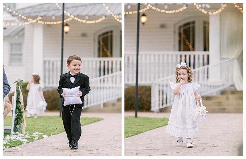cute kids in weddings